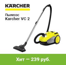 Пылесос для дома Karcher VC 2
